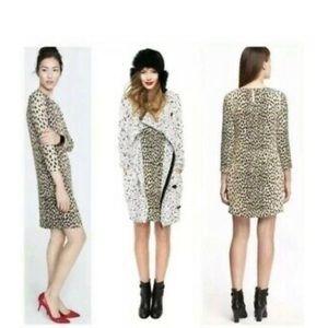 J. Crew Dress Leopard Animal Print
